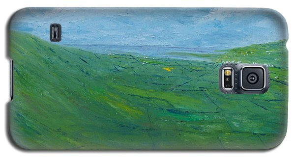 Galaxy S5 Case featuring the painting On The Road To Dingle   Original Sold by Conor Murphy