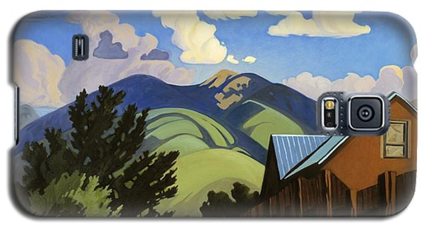 Galaxy S5 Case featuring the painting On The Road To Lili's by Art James West