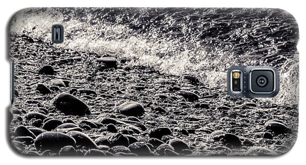 On The Rocks  French Beach Square Galaxy S5 Case
