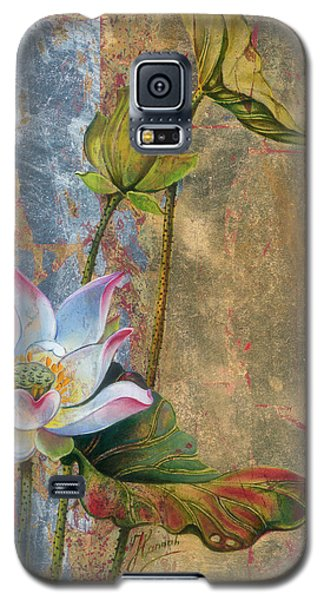 On The Silver Ray Galaxy S5 Case