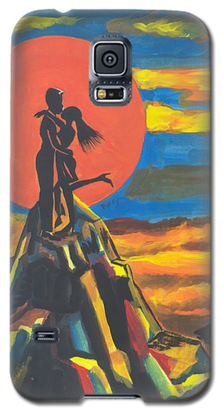 On The Summit Of Love Galaxy S5 Case by Emmanuel Baliyanga