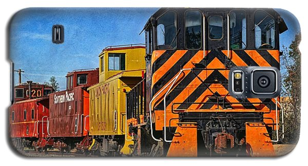 On The Tracks Galaxy S5 Case by Peggy Hughes