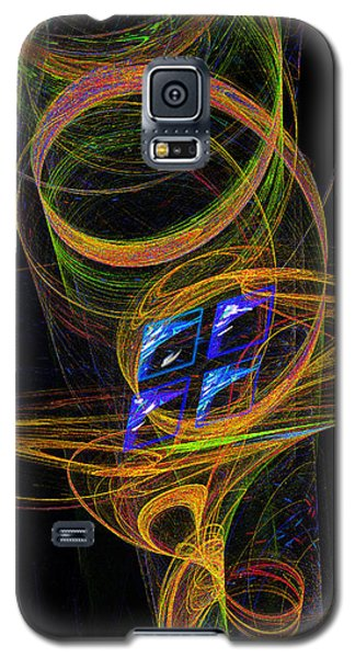 Galaxy S5 Case featuring the digital art On The Way To Oz by Victoria Harrington