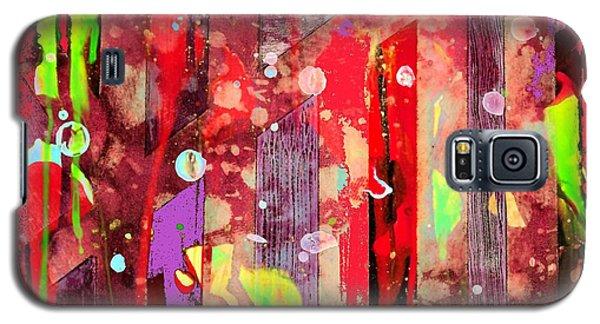 On The Wild Side Galaxy S5 Case by Carolyn Repka