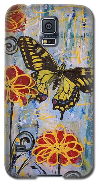 On The Wings Of A Dream Galaxy S5 Case by Jane Chesnut