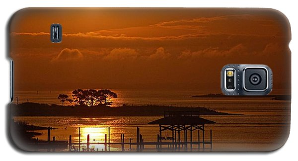On Top Of Tacky Jacks Sunrise Galaxy S5 Case by Michael Thomas