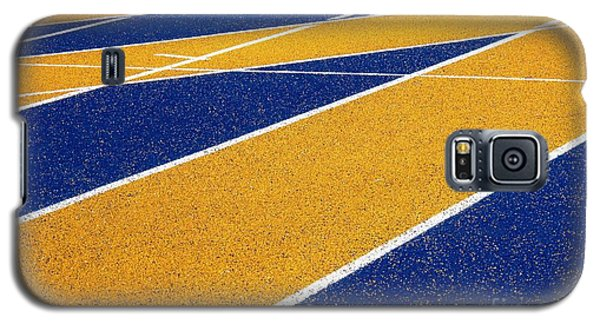 On Track Galaxy S5 Case by Ethna Gillespie