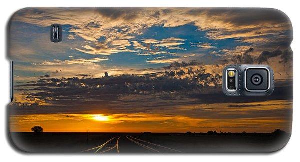 On Track Galaxy S5 Case by Shirley Heier