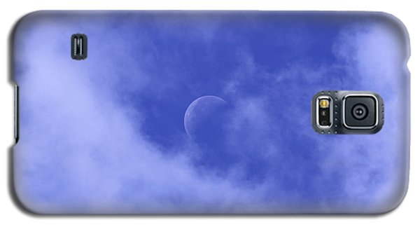 Galaxy S5 Case featuring the photograph Once In A Blue Moon by Judy Whitton
