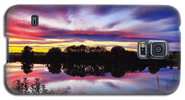One Autumn Evening Galaxy S5 Case by Lynn Hopwood