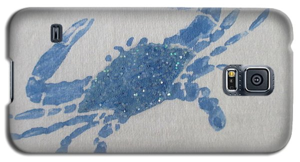 One Blue Crab On Sand Galaxy S5 Case