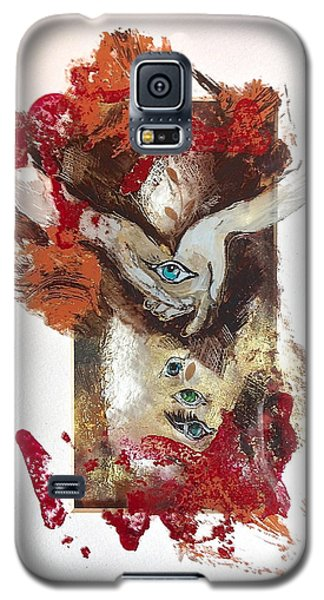 One Day At A Time Galaxy S5 Case by Delona Seserman