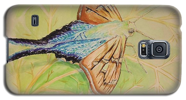 One Day In A Long-tailed Skipper Moth's Life Galaxy S5 Case