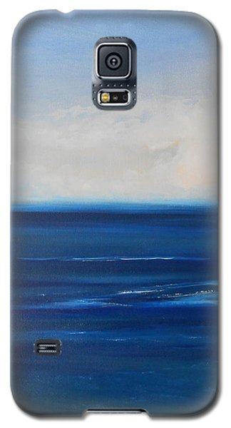 Galaxy S5 Case featuring the painting One Fine Day by Jane  See