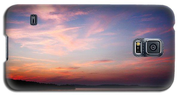 Galaxy S5 Case featuring the photograph One Fine Sunset by Polly Peacock