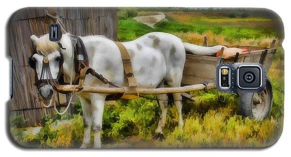 One Horse Wagon Galaxy S5 Case
