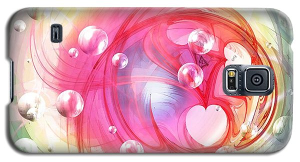 One Love... One Heart... One Life Galaxy S5 Case by Peggy Hughes