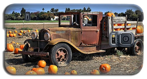 Galaxy S5 Case featuring the photograph One More Pumpkin by Michael Gordon