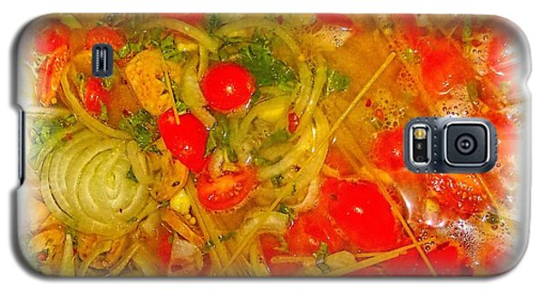 One Pan Pasta Cooking Galaxy S5 Case by Constantine Gregory