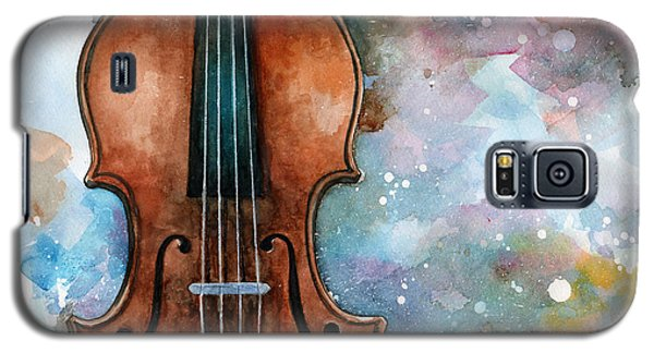 One Voice In The Cosmic Fugue Galaxy S5 Case