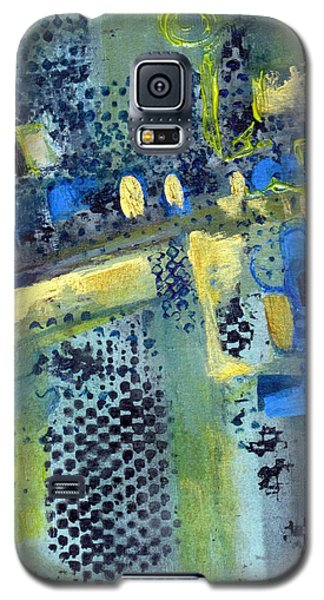 Galaxy S5 Case featuring the painting One World by Betty Pieper