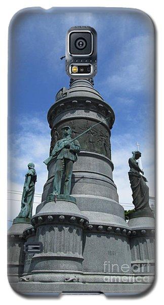 Oneida Square Civil War Monument Galaxy S5 Case by Peter Gumaer Ogden
