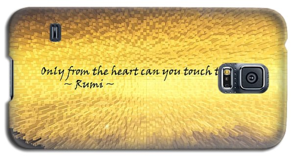 Only From The Heart Galaxy S5 Case by Anne Mott