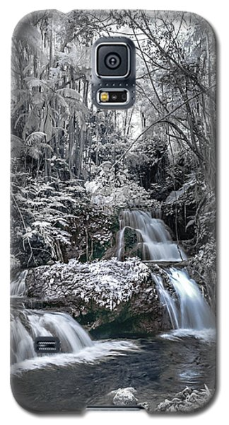 Onomea Falls In Infrared 2 Galaxy S5 Case