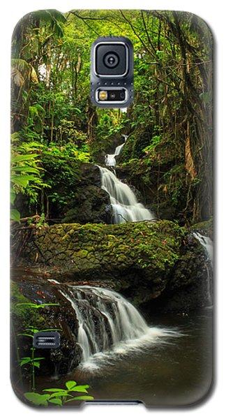 Onomea Falls Galaxy S5 Case