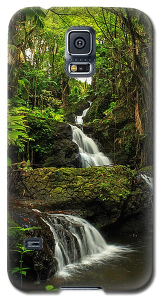 Onomea Falls Galaxy S5 Case by James Eddy