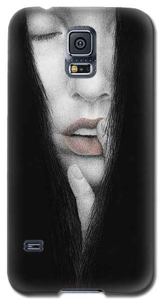 Galaxy S5 Case featuring the painting Onus Memoriae by Pat Erickson