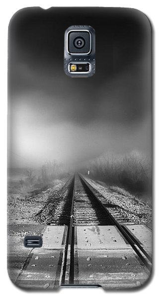Onward - Railroad Tracks - Fog Galaxy S5 Case