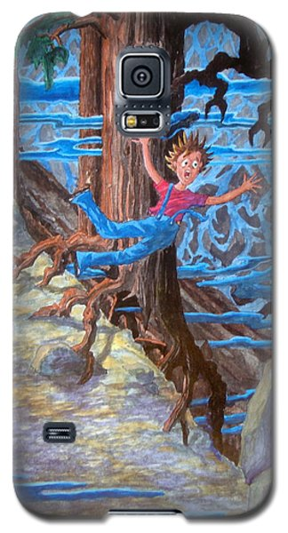 Galaxy S5 Case featuring the painting Oooooh by Matt Konar