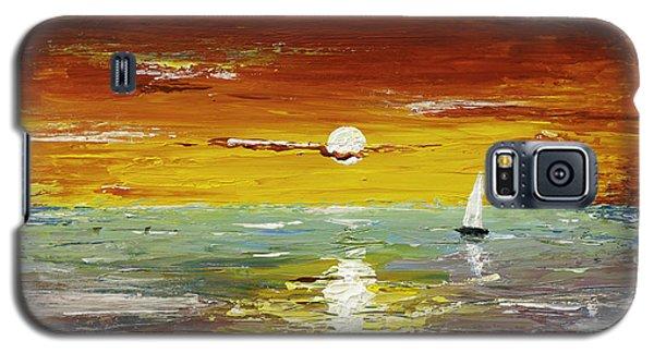 Open Sea Galaxy S5 Case by Gray  Artus