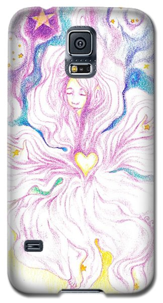 Opening And Blossoming   Dreaming The World Into Being   As She Dances In The Stars Galaxy S5 Case