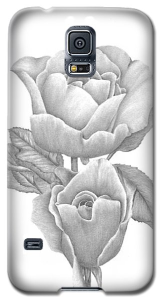 Opening Blooms Galaxy S5 Case