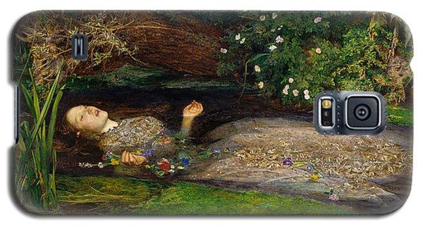 Ophelia  Galaxy S5 Case by John Everett Millais
