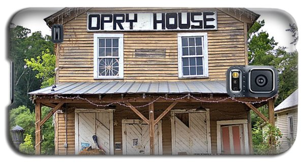 Galaxy S5 Case featuring the photograph Opry House - Square by Gordon Elwell