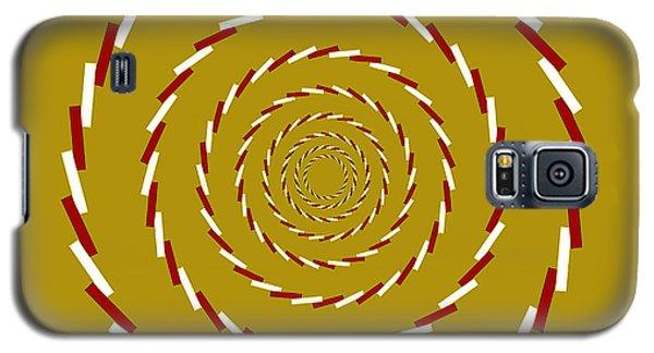Optical Illusion Whirlpool Galaxy S5 Case