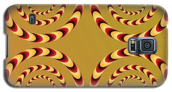 Optical Ilusions Summer Spin Galaxy S5 Case