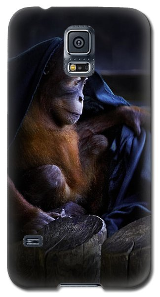Orang Utan Youngster With Blanket Galaxy S5 Case