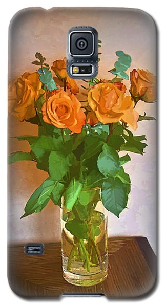 Galaxy S5 Case featuring the photograph Orange And Green by John Hansen