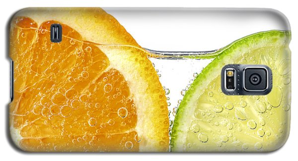 Orange And Lime Slices In Water Galaxy S5 Case by Elena Elisseeva
