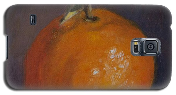Orange And Plump Galaxy S5 Case by Debbie Lamey-MacDonald