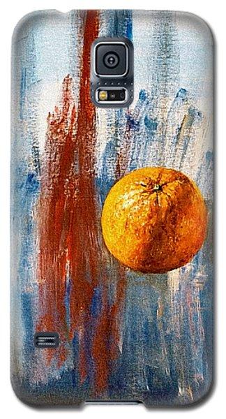 Orange Galaxy S5 Case by Arturas Slapsys