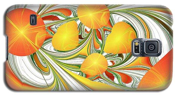Orange Attitude Galaxy S5 Case