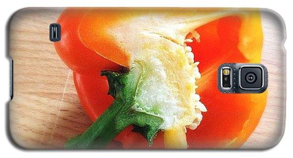 Orange Bell Pepper Galaxy S5 Case
