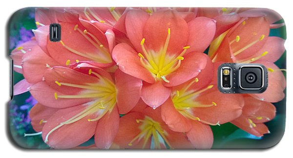 Orange Bouquet Galaxy S5 Case