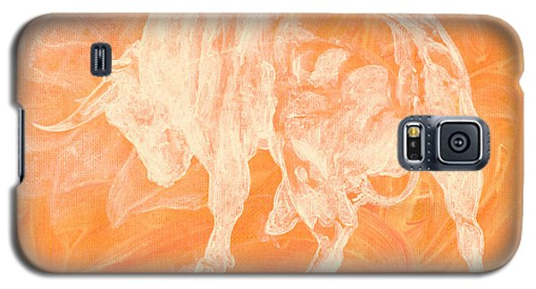 Orange Bull Negative Galaxy S5 Case