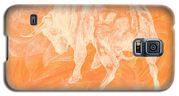 Orange Bull Negative Galaxy S5 Case